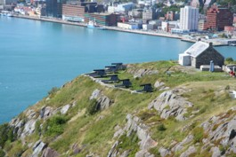 cannons on Signal Hill