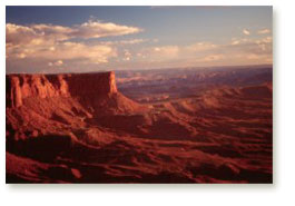 Canyonlands, beautiful desolation, Utah