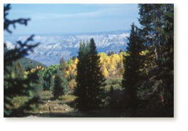 View from Grand Mesa