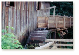 Old Mill along Blue Ridge Parkway