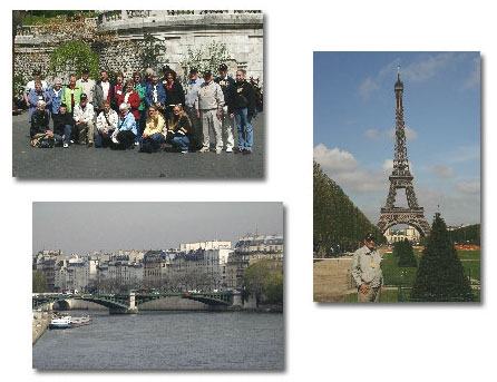 Tour Group in Paris